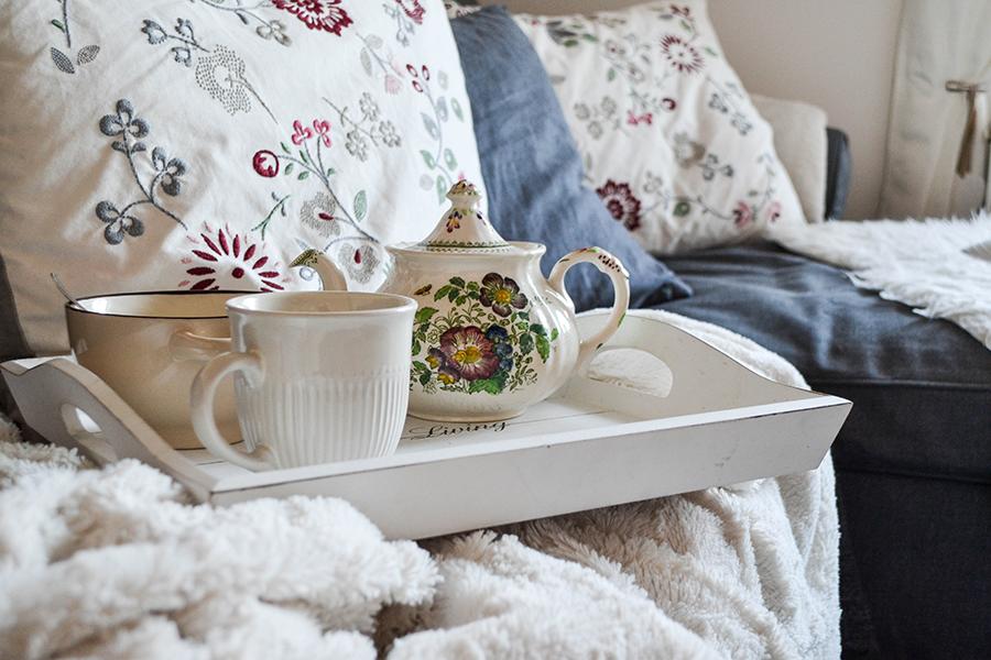 winterliche dekoration. Black Bedroom Furniture Sets. Home Design Ideas
