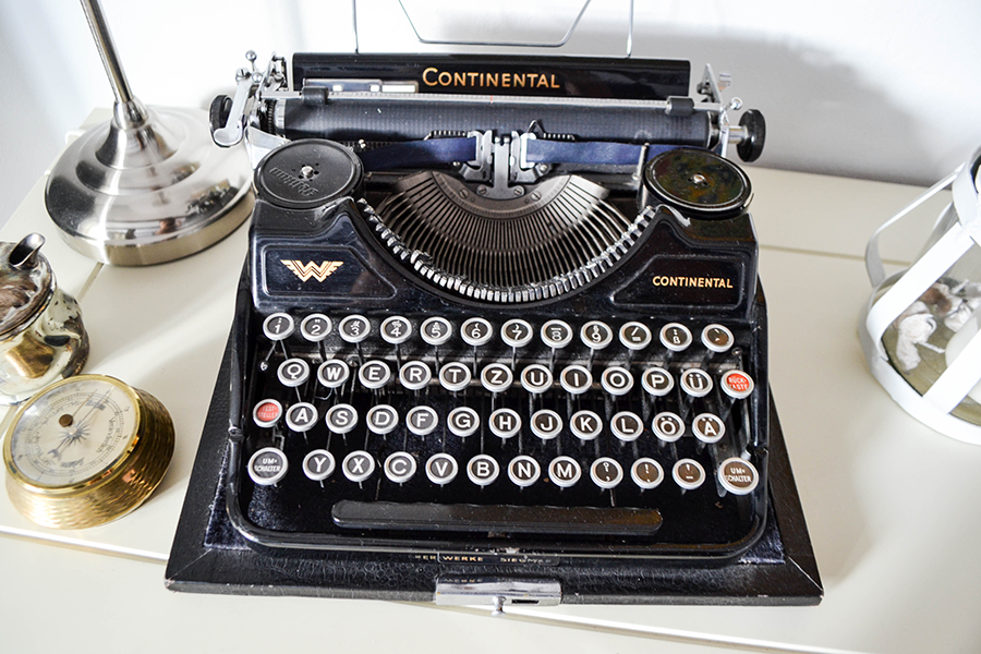 Flohmarkt Lieblinge, Schreibmaschine