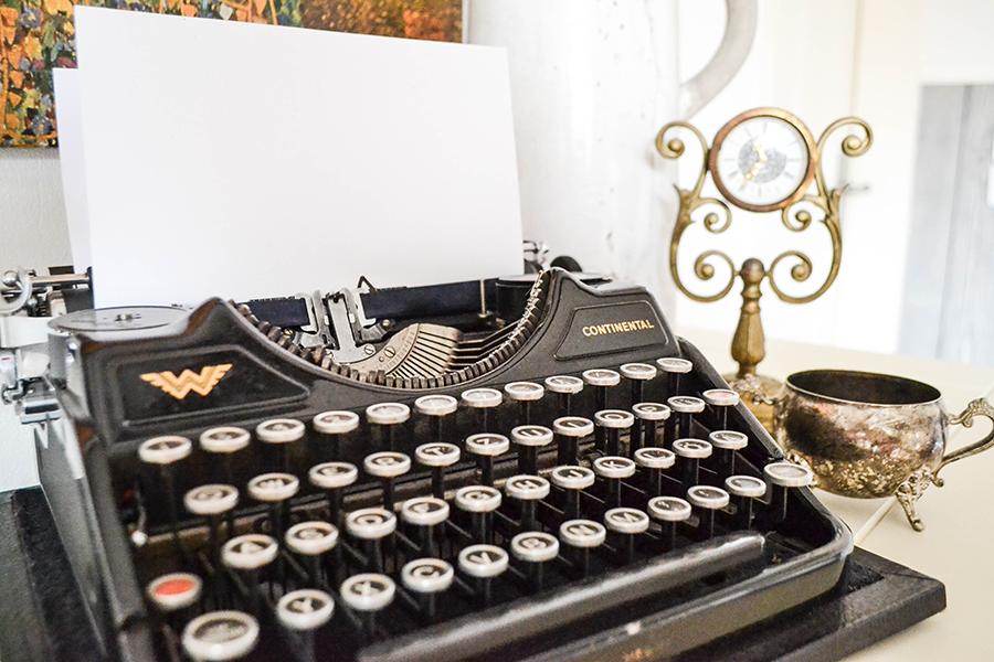 Flohmarkt Lieblinge Alte Schreibmaschine