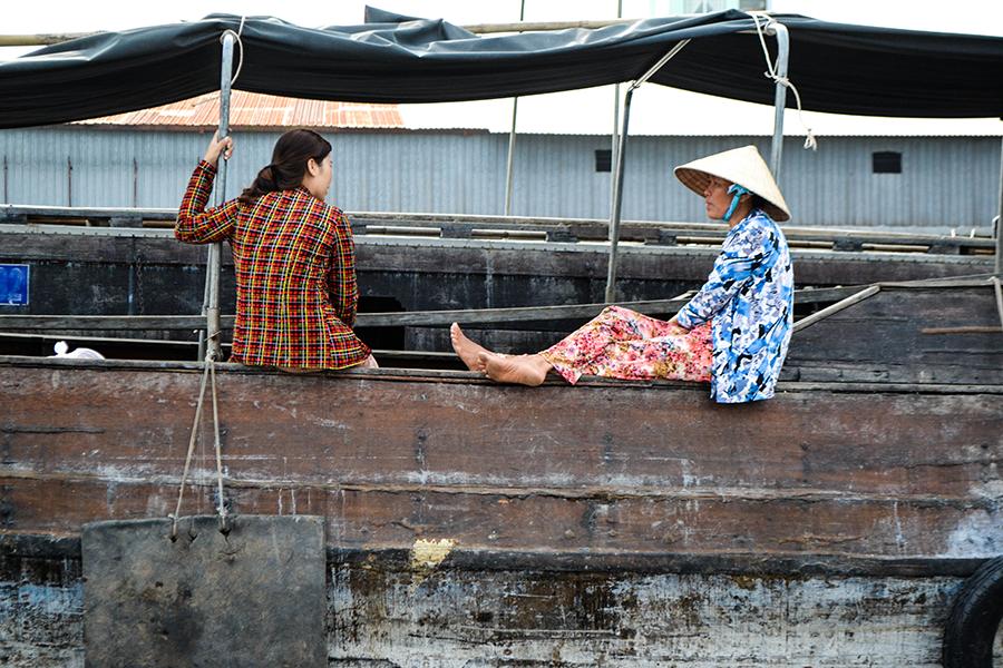 Schwimmender Markt, Mekong Delta, Vietnam