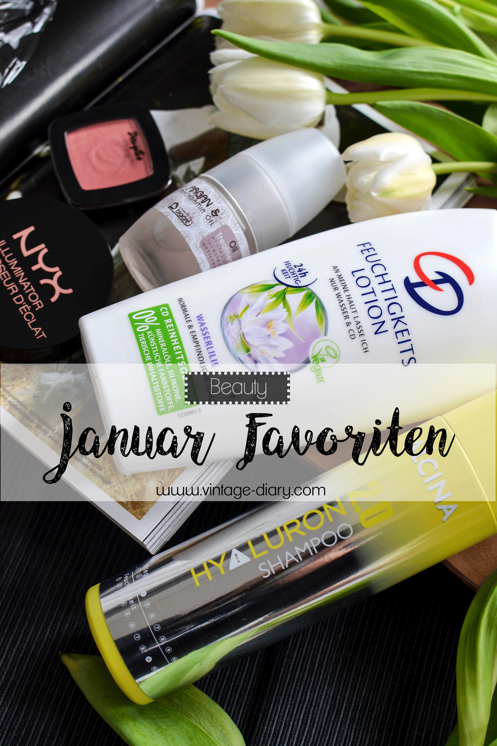BEAUTY// 5 FAVORITEN IM JANUAR