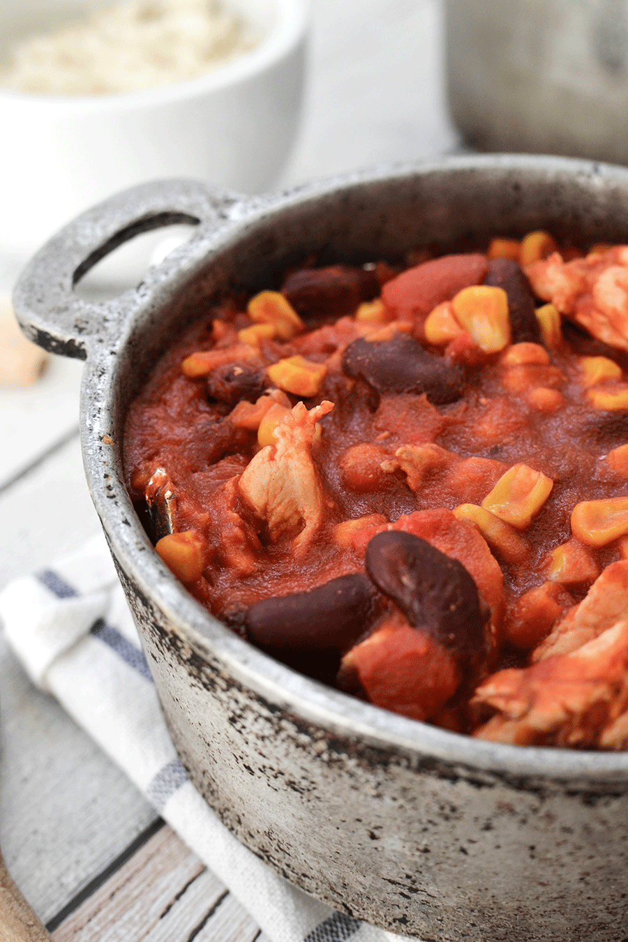 Chili con Carne mit Putenbrust (WeightWatchers)