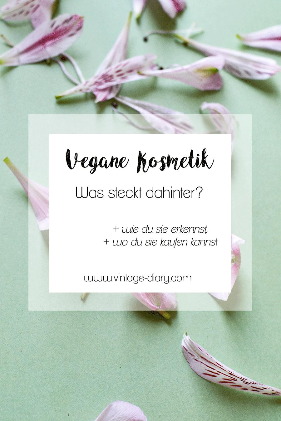 Anzeige | Vegane Kosmetik - Was steckt dahinter?
