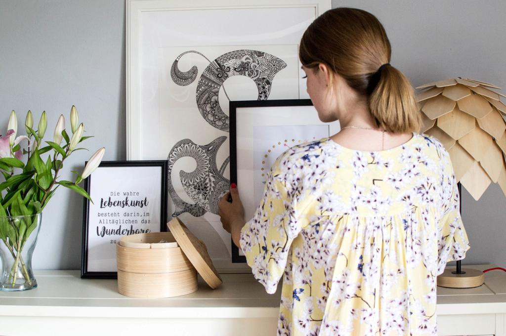 DIY - 5 kreative Ideen für die Gestaltung eurer Bilderrahmen ...