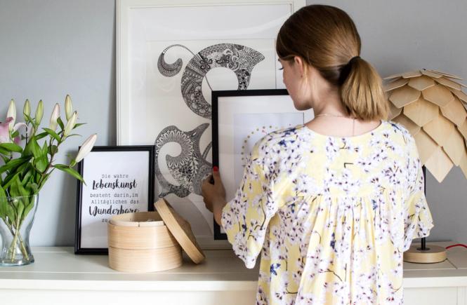 DIY: 5 kreative Ideen für die Gestaltung eurer Bilderrahmen