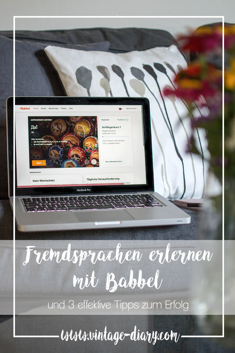 Anzeige | Fremdsprachen erlernen mit Babbel und 3 effektive Tipps zum Erfolg