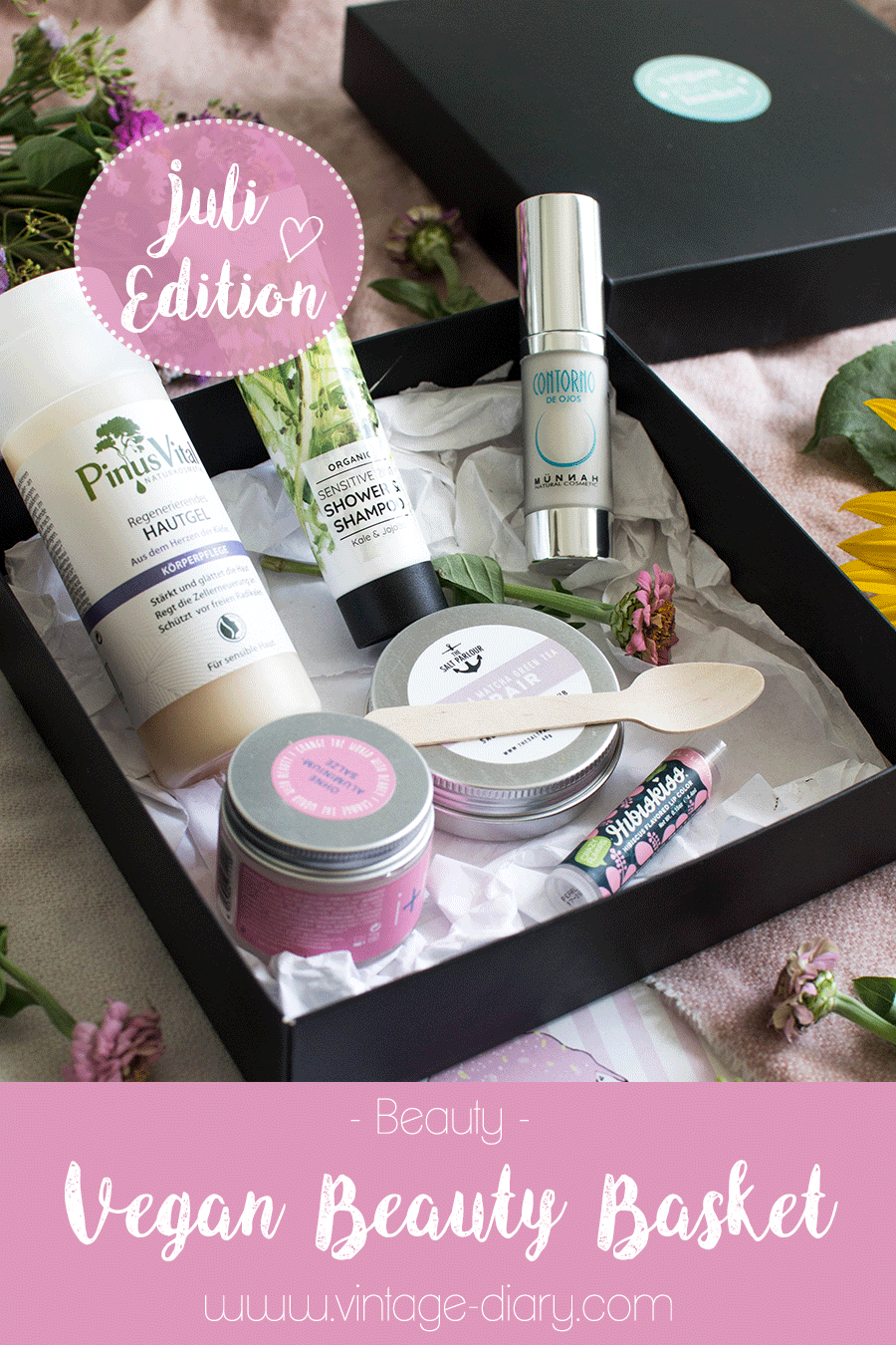 Vegan Beauty Basket (Juli Edition) + Giveaway