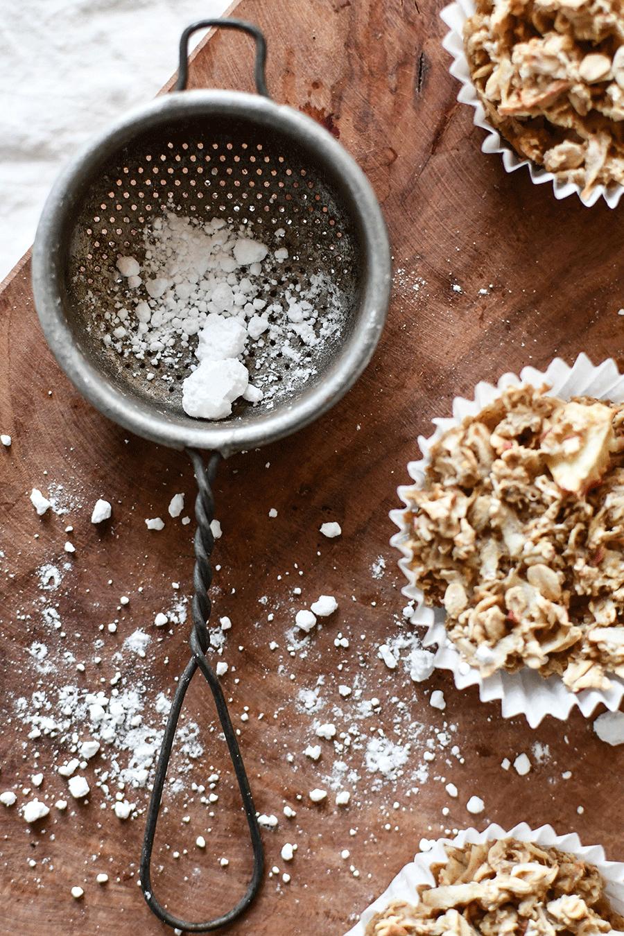 Sattmacher - Muffins mit Äpfeln und Hafeflocken (WeightWatchers)