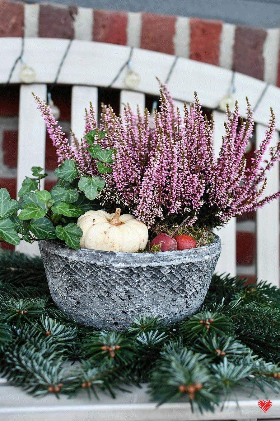 Do it yourself: Natürliche Herbst- und Winterdekoration selbst gemacht