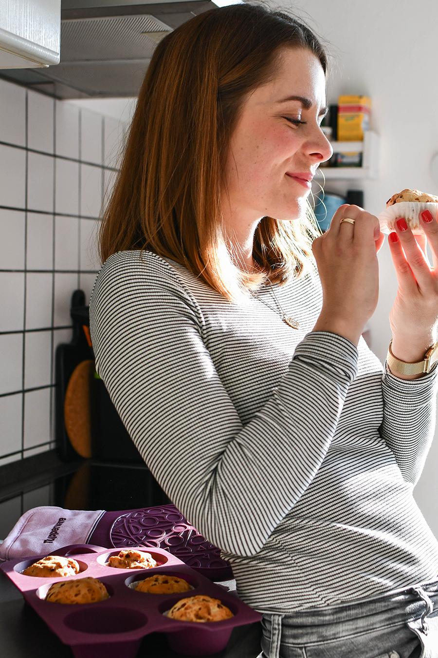 Herzhafte Schinken - Käse Muffins
