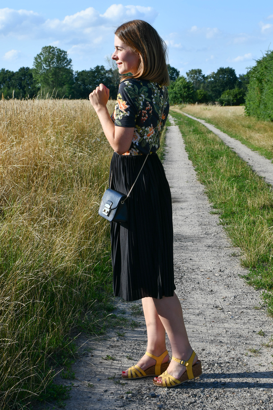 How to wear: Sommerlooks mit Keilabsatz - Sandalette