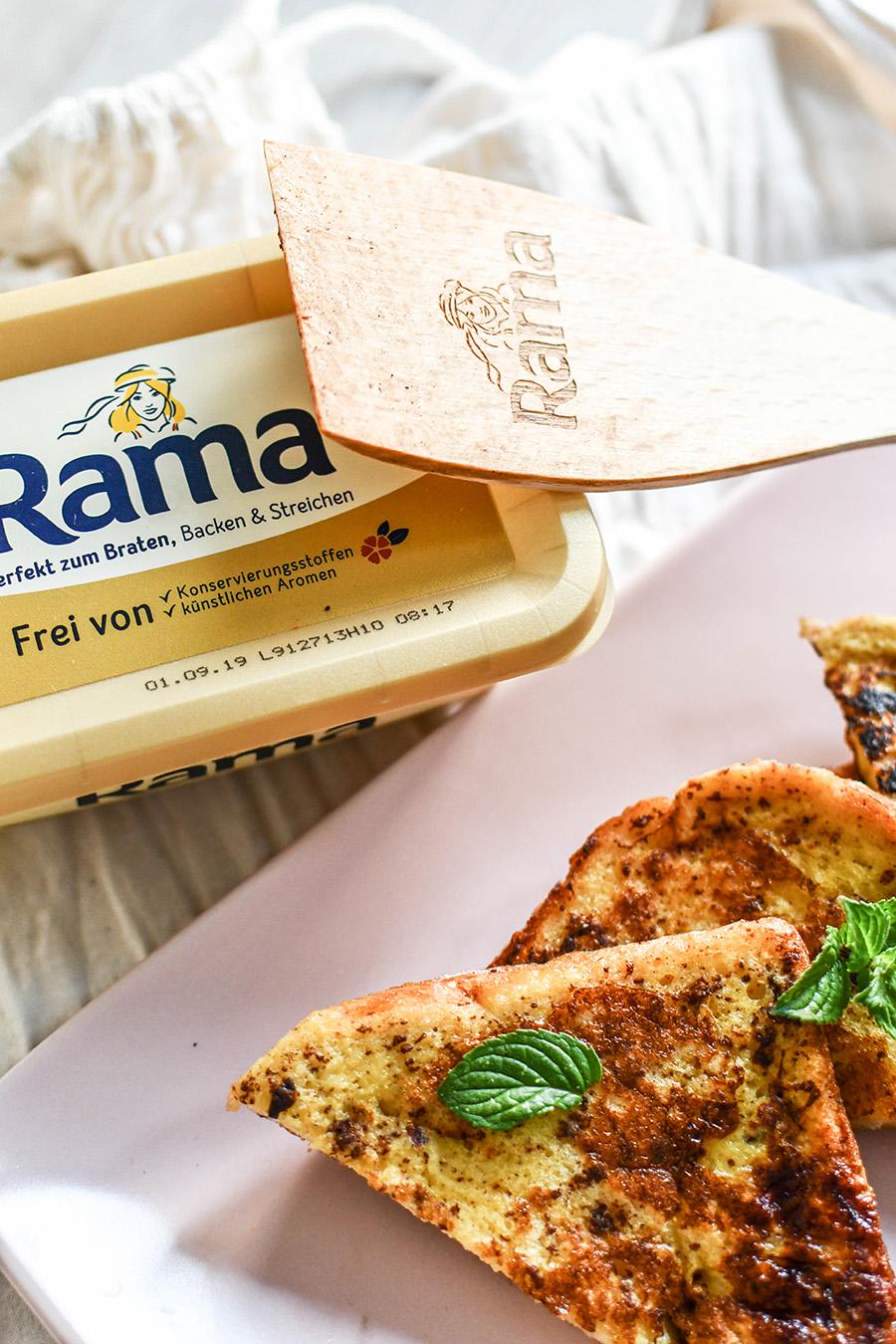 """Rezept mit Rama """"Unser Meisterstück"""""""