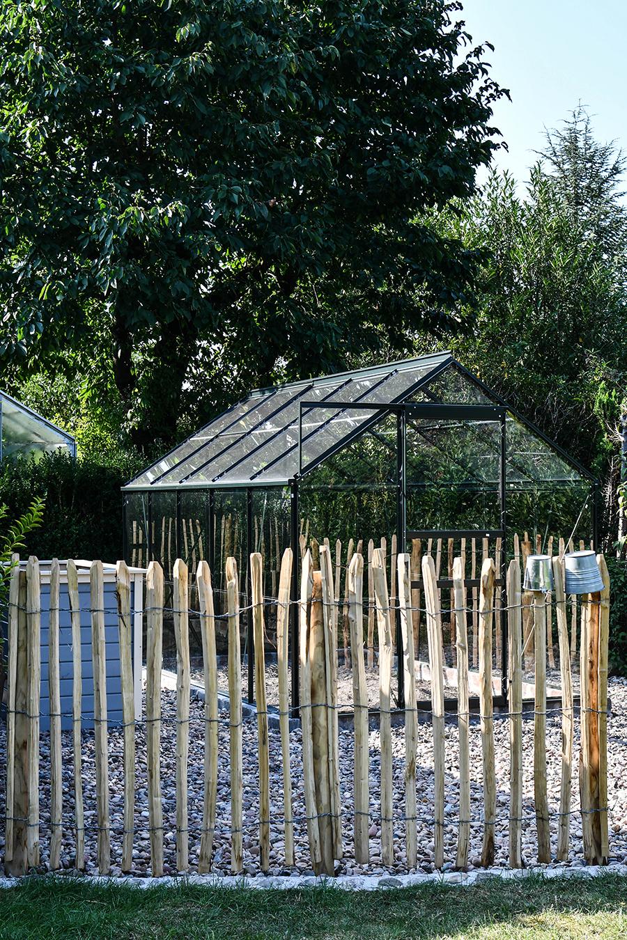 Holzzäune für den Garten
