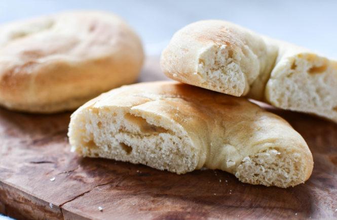 WW Frühstück: Einfache Bagel mit Dinkelmehl