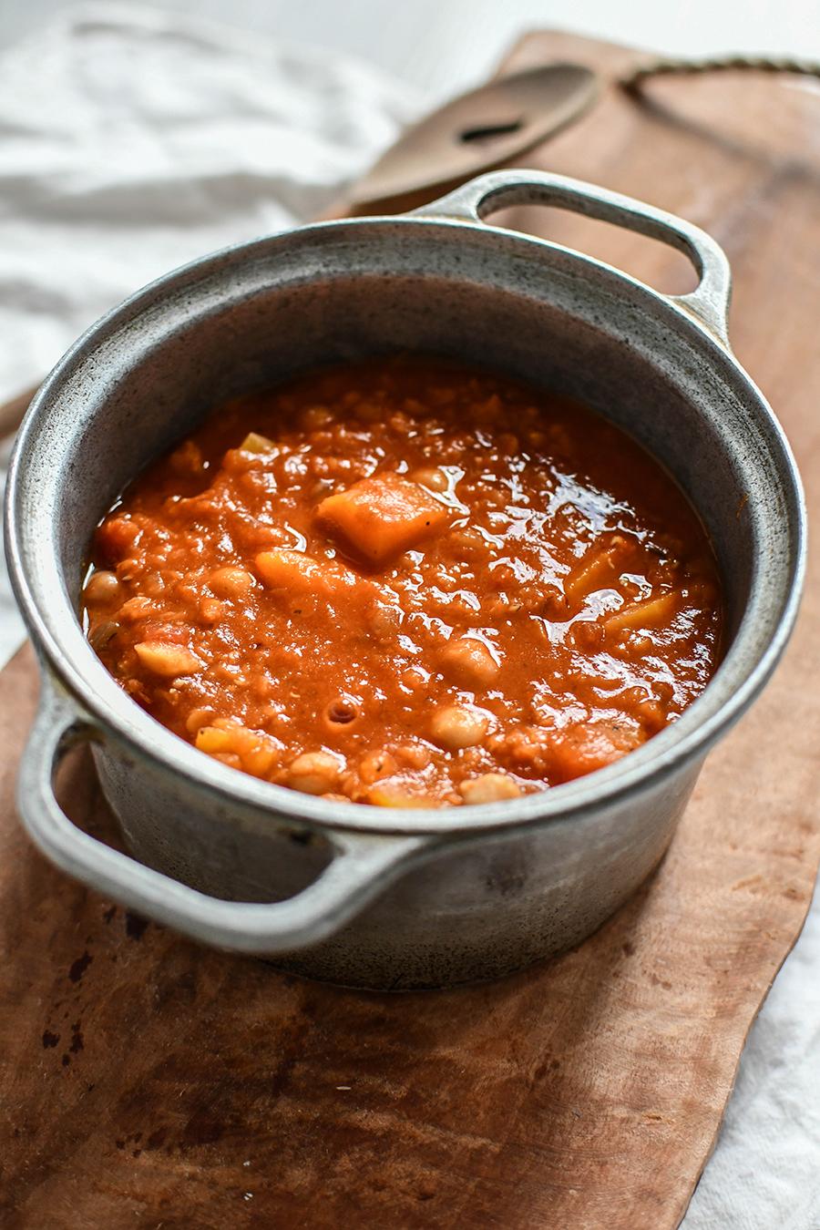 WW Rezept: Kichererbsen-Kürbis-Curry