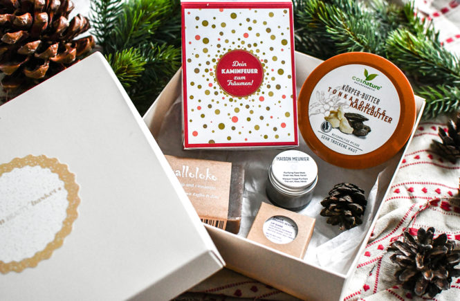 Vegan Beauty Basket - Weihnachtsbox 2019