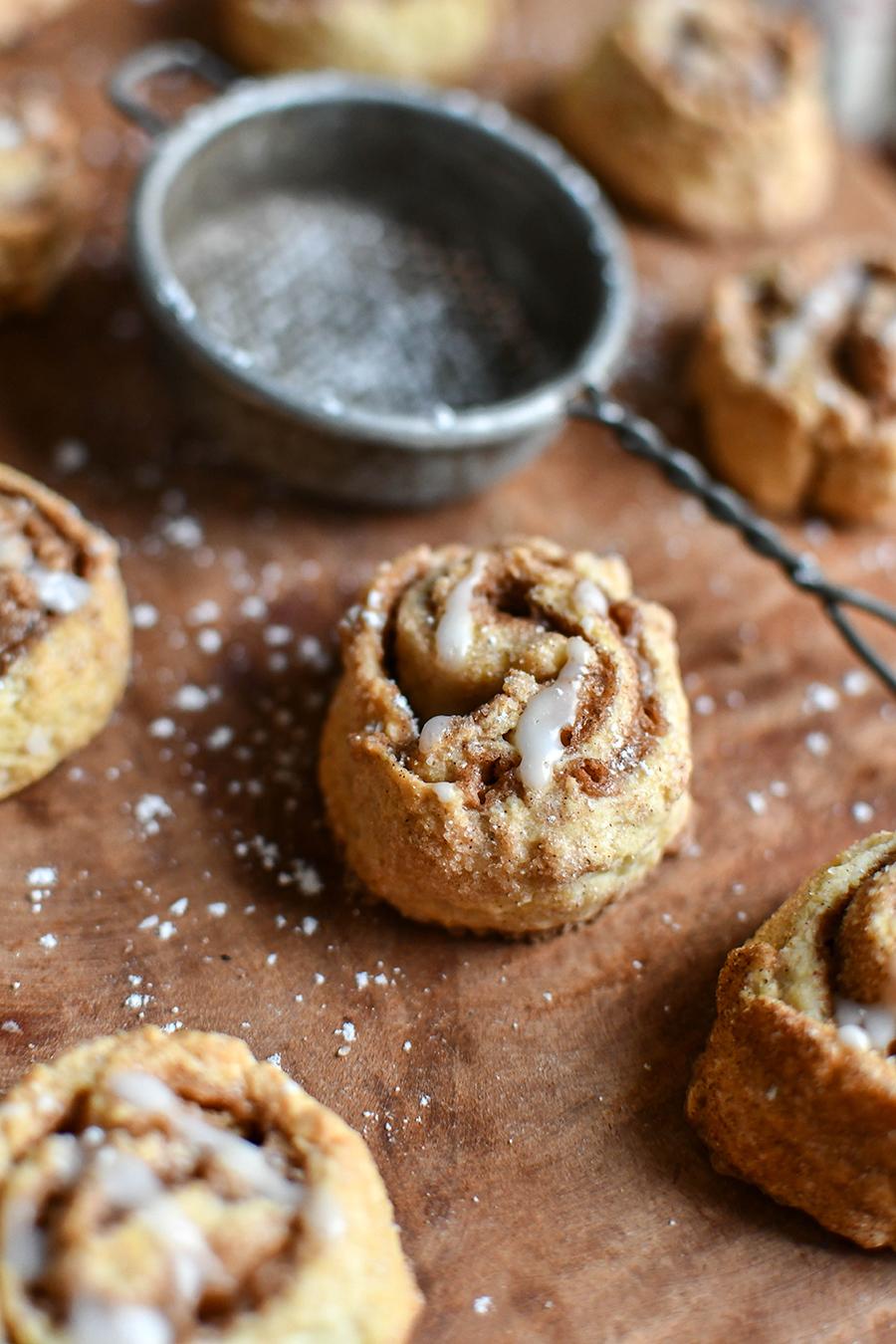 WW Rezept: Zimtschnecken-Cookies