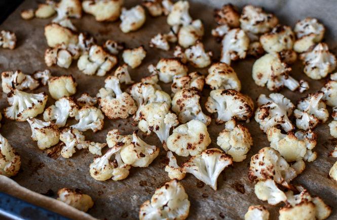 Blumenkohl aus dem Ofen - schnelles Rezept