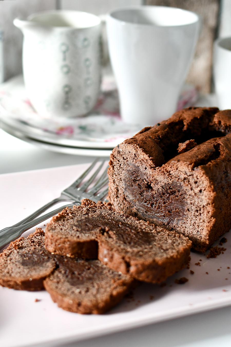 Schokoladenkuchen mit flüssigem Kern - Schnelles Rezept