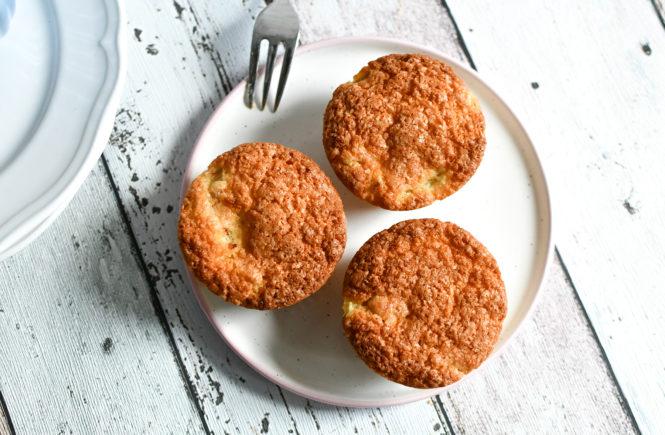 Schnelle Muffins mit Rhabarber