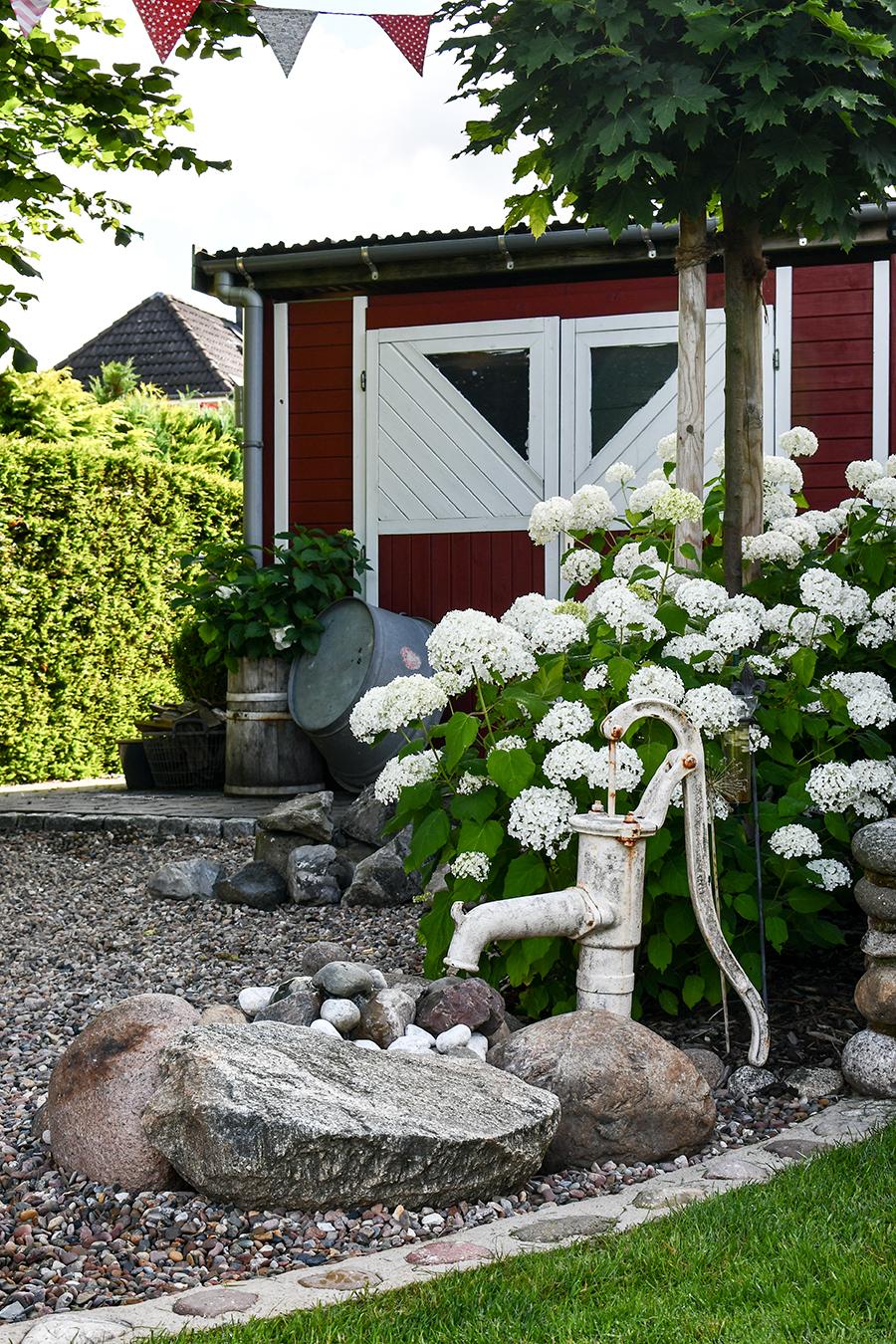 Gartengestaltung mit Wasser