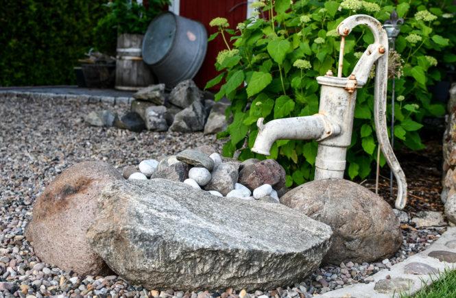 Garten-DIY: Springbrunnen für den Garten selber bauen