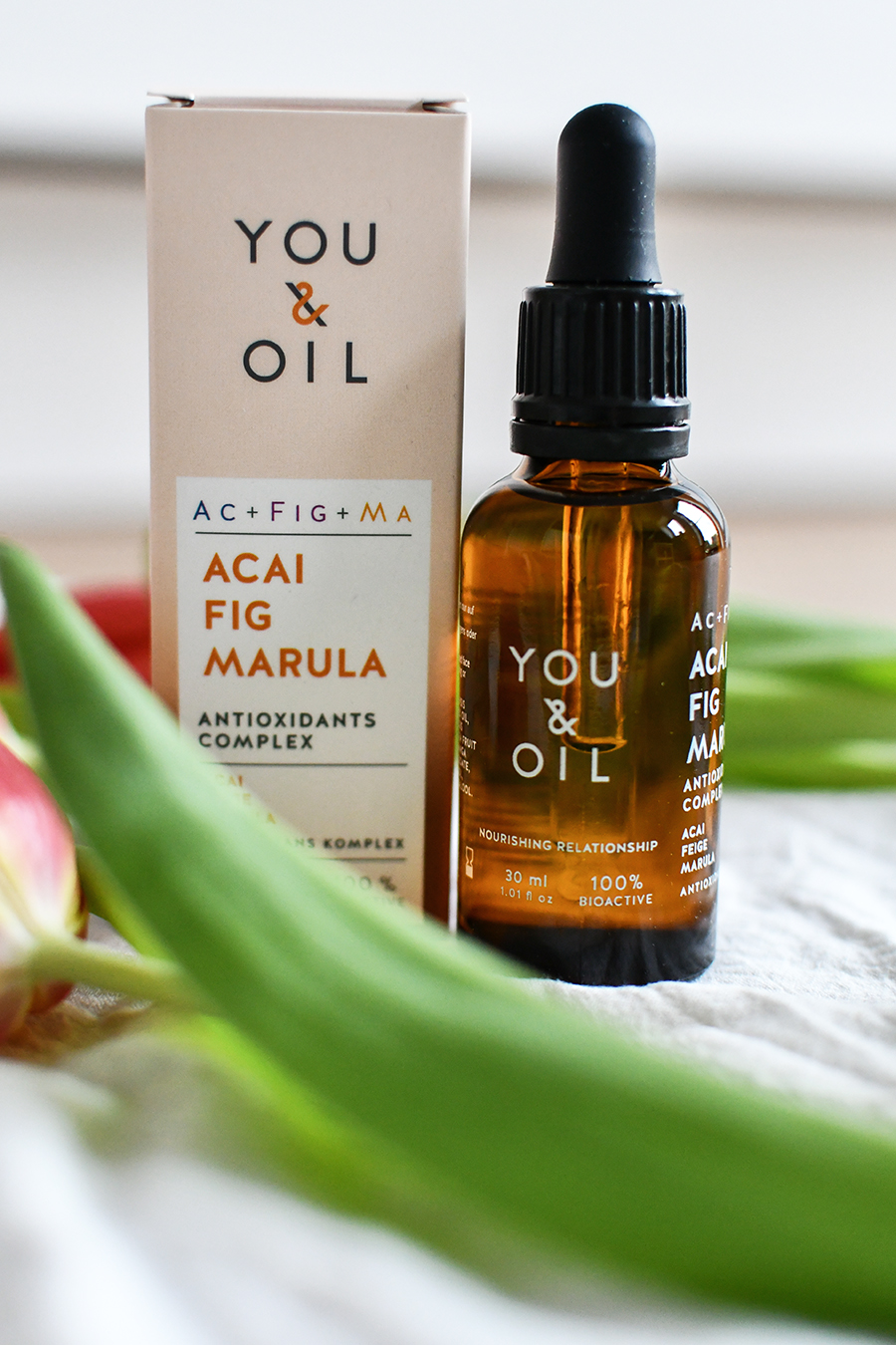 You and Oil Acai Fig Marula Serum Geischtspflege